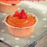 Cupcake cuor di fragola