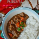 Ringo Kare raisu (japanese Apple curry rice)