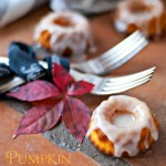 Pumpkin mini bundt cakes