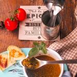 Zuppa di lenticchie al profumo di alici
