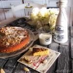 Torta di polenta, ricotta e noci di macadamia
