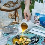 Orecchiette in guazzetto dorato di cozze e vongole