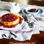 Cheesecake (cotta) ai frutti di bosco
