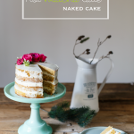 Hot matcha latte naked cake