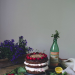 Black forest naked cake